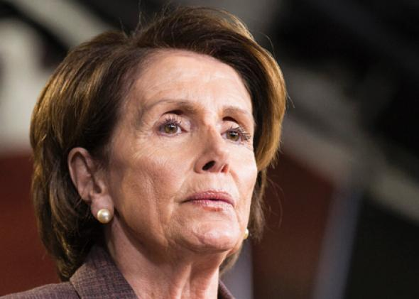 House Minority Leader Nancy Pelosi speaks on Capitol Hill in Washington on Nov. 18, 2014.