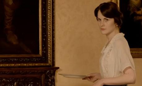 The eldest of the Crawley daughters, Lady Mary Crawley.