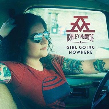 The cover for Ashley McBride's Girl Going Nowhere.