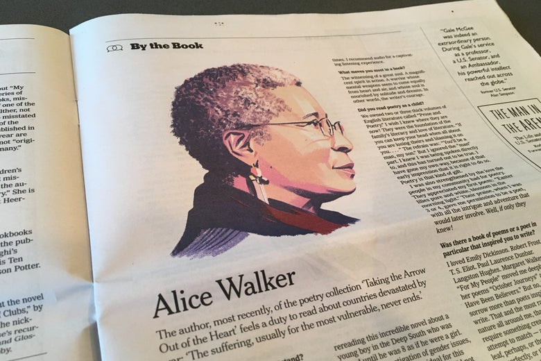 alice walker and david icke the new york times by the book feature