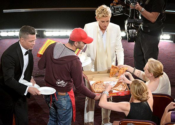 Big Mama's and Papa's Pizza at the Oscars
