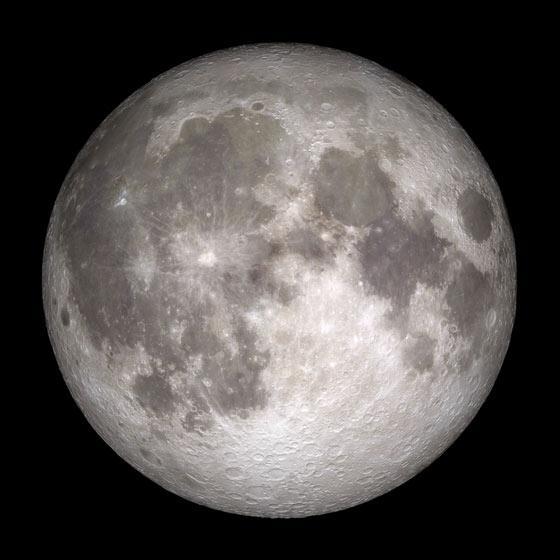 The Full Moon of Dec. 2012