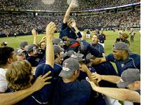Twins celebrate. Click image to expand.
