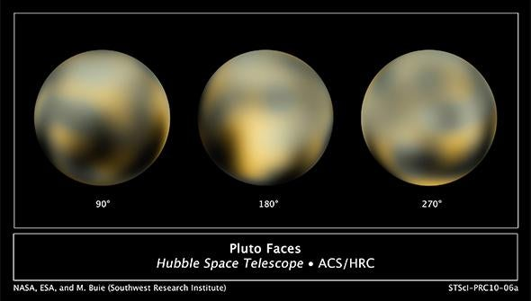 Surface of Pluto
