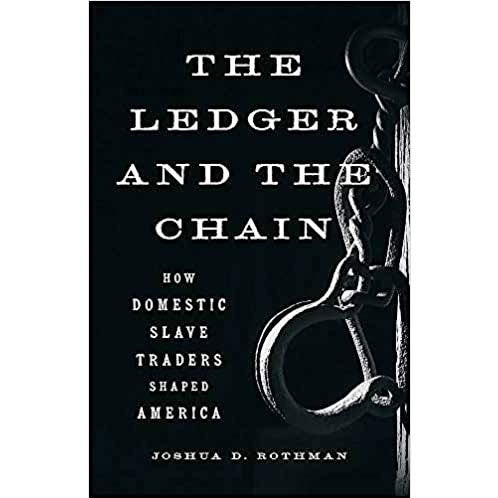 The cover of The Ledger and the Chain.