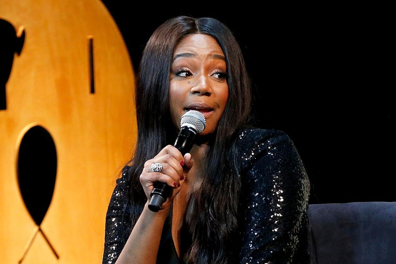 Tiffany Haddish Secretly Recorded What People Said About Her After Auditions