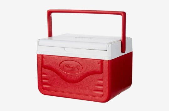 Coleman FlipLid Personal Cooler.