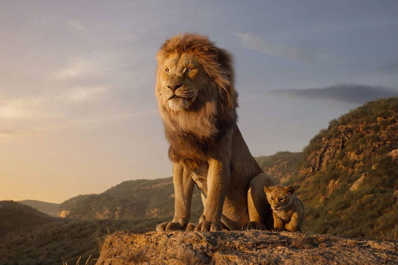 The Lion King (the new one).