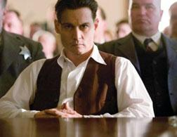 Johnny Depp as John Dillinger in the 2009 movie Public Enemies. Click image to expand.