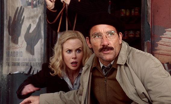 Nicole Kidman and Clive Owen in HBO's Hemingway and Gellhorn.