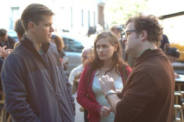 Matt Damon, Anna Paquin, and Kenneth Lonergan in Margaret