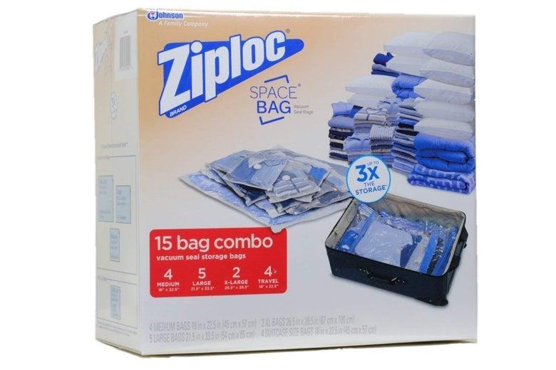 Ziploc Space Bags (Box of 15)
