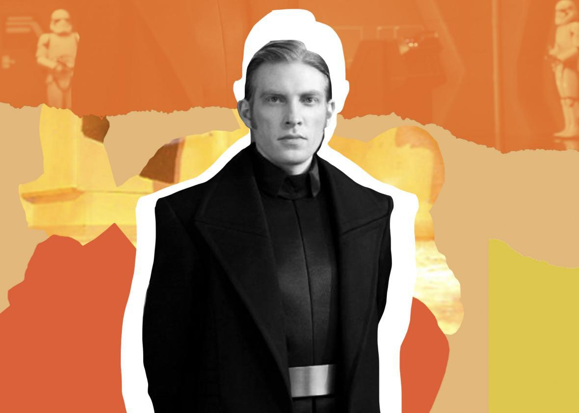 Domnhall Gleeson in Star Wars