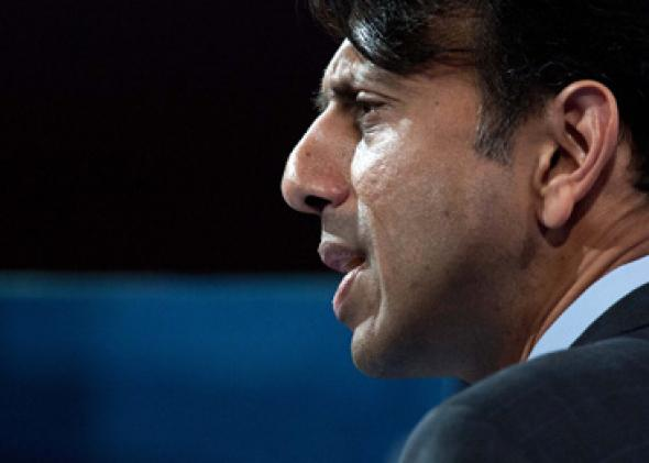 US Republican Governor of Louisiana Bobby Jindal.