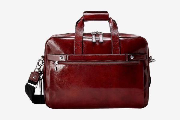 Bosca Single Gusset Stringer Bag