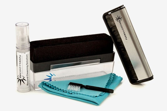 Vinyl Record Cleaning Brush Kit.