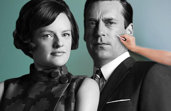 Peggy Olson, Don Draper.