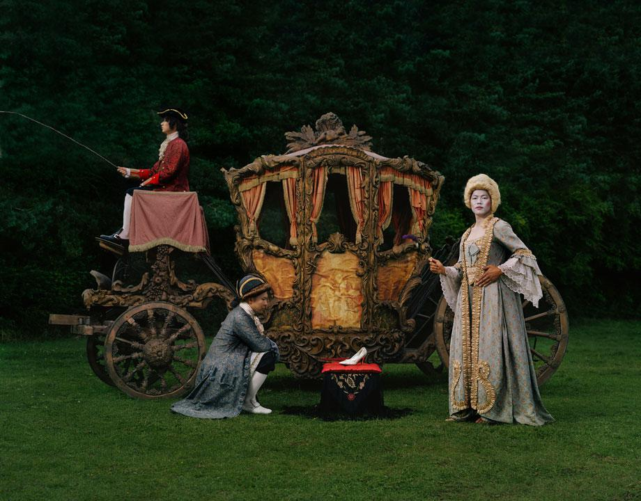 Existing in Costume. Cinderella. 230x180 cm C-Print, 2008