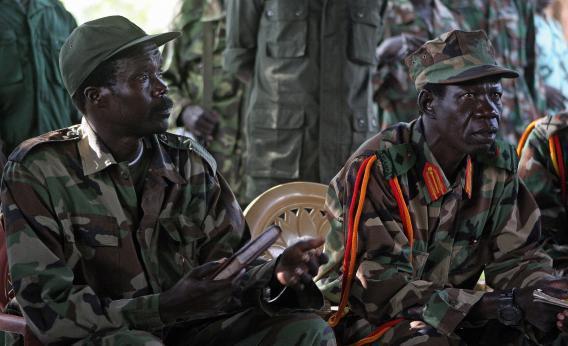 Kony and his deputy