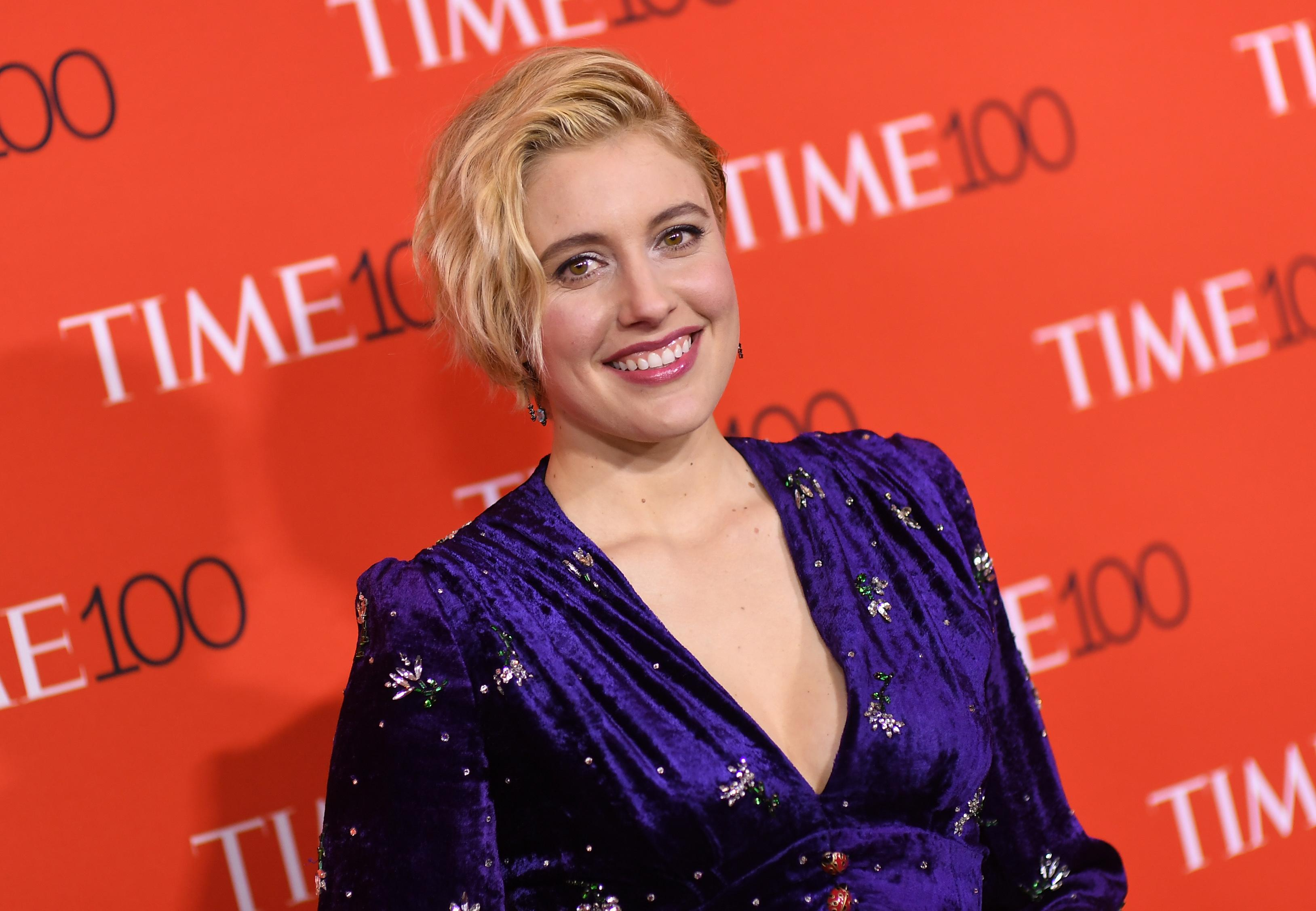 Greta Gerwig attends the TIME 100 Gala celebrating its annual list of the 100 Most Influential People In The World at Frederick P. Rose Hall, Jazz at Lincoln Center on April 24, 2018 in New York City. (Photo by ANGELA WEISS / AFP)        (Photo credit should read ANGELA WEISS/AFP/Getty Images)