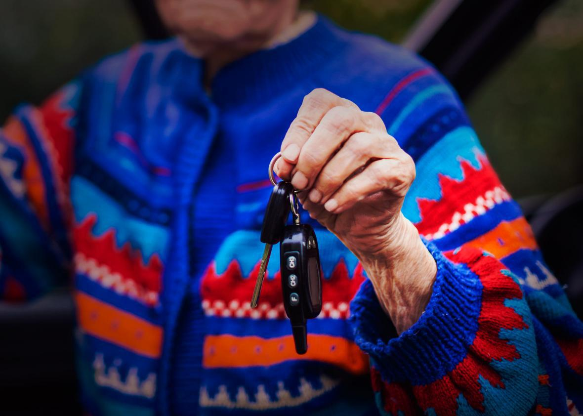Older Driver.