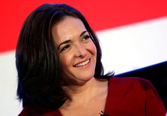 Facebook Chief Operating Officer Sheryl Sandberg smiles at the Iab Mixx Conference and Expo in New York October 2, 2012.