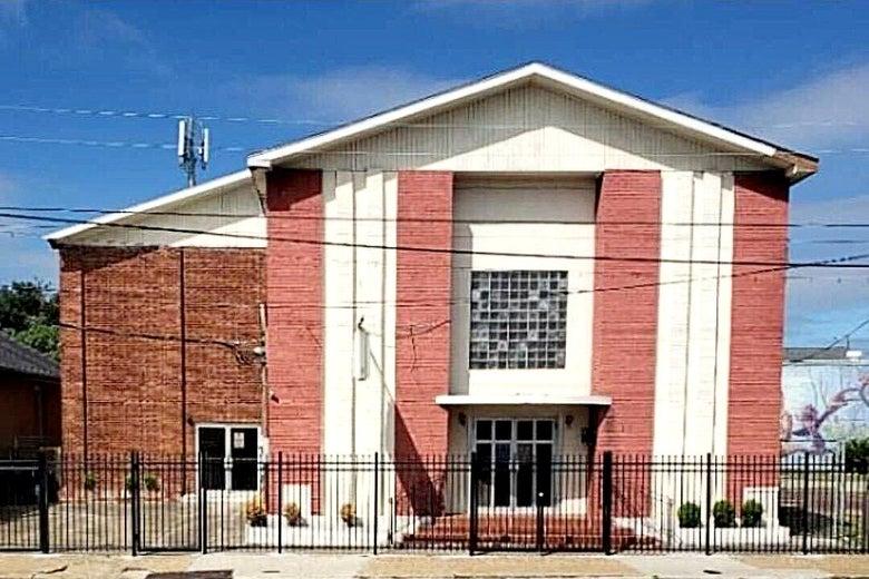 Exterior of Ebenezer Baptist Church