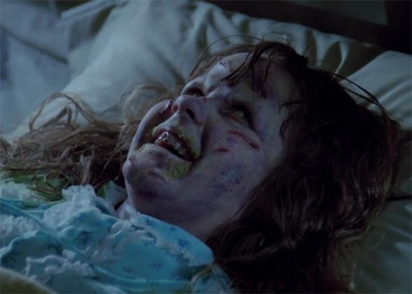 Linda Blair in The Exorcist, 1973.