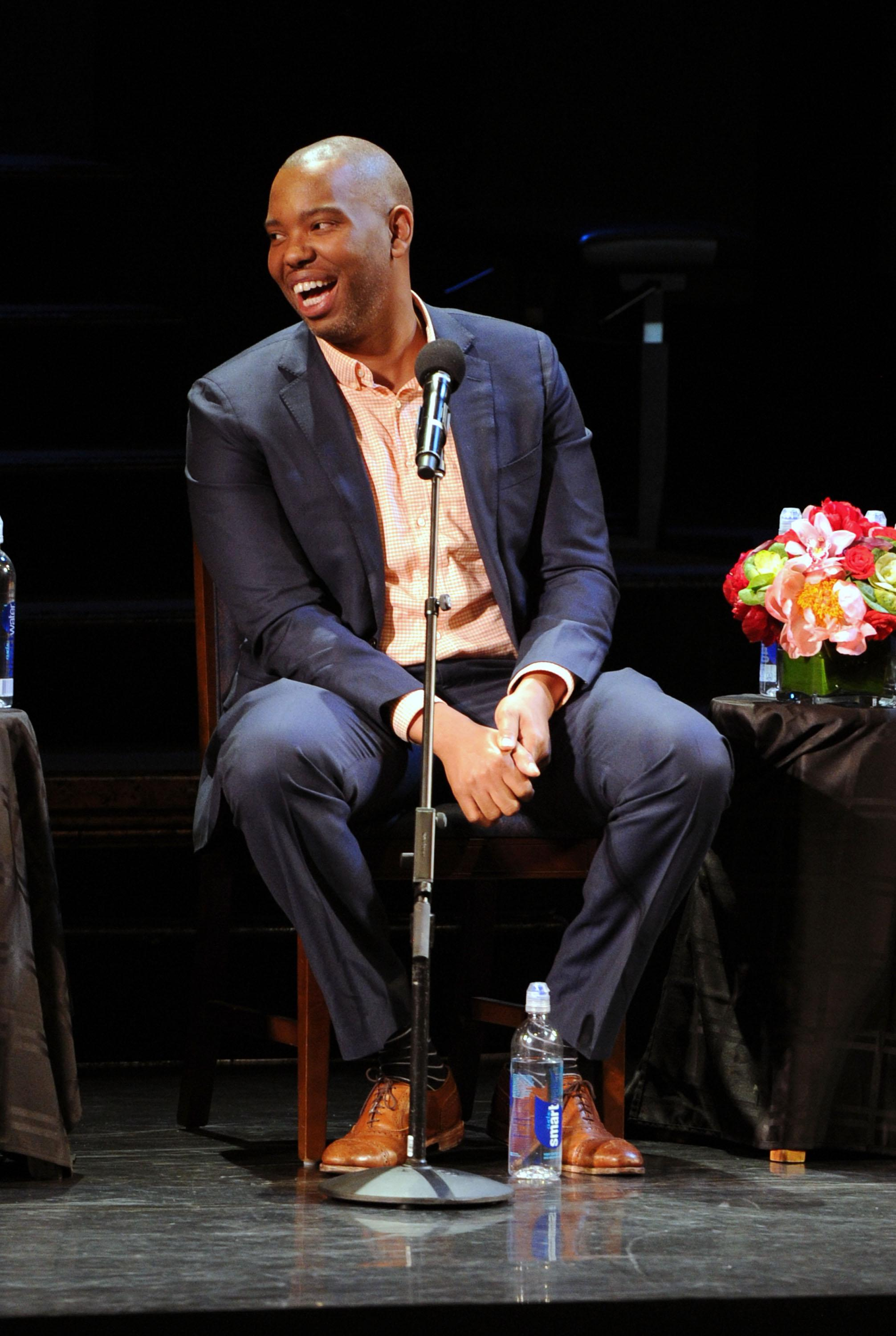 NEW YORK, NY - JUNE 15:  Ta-Nehisi Coates attends Art & Social Activism, a discussion on Broadway with Ta-Nehisi Coates, Toni Morrison and Sonia Sanchez on June 15, 2016 in New York City.  (Photo by Craig Barritt/Getty Images for The Stella Adler Studio of Acting)