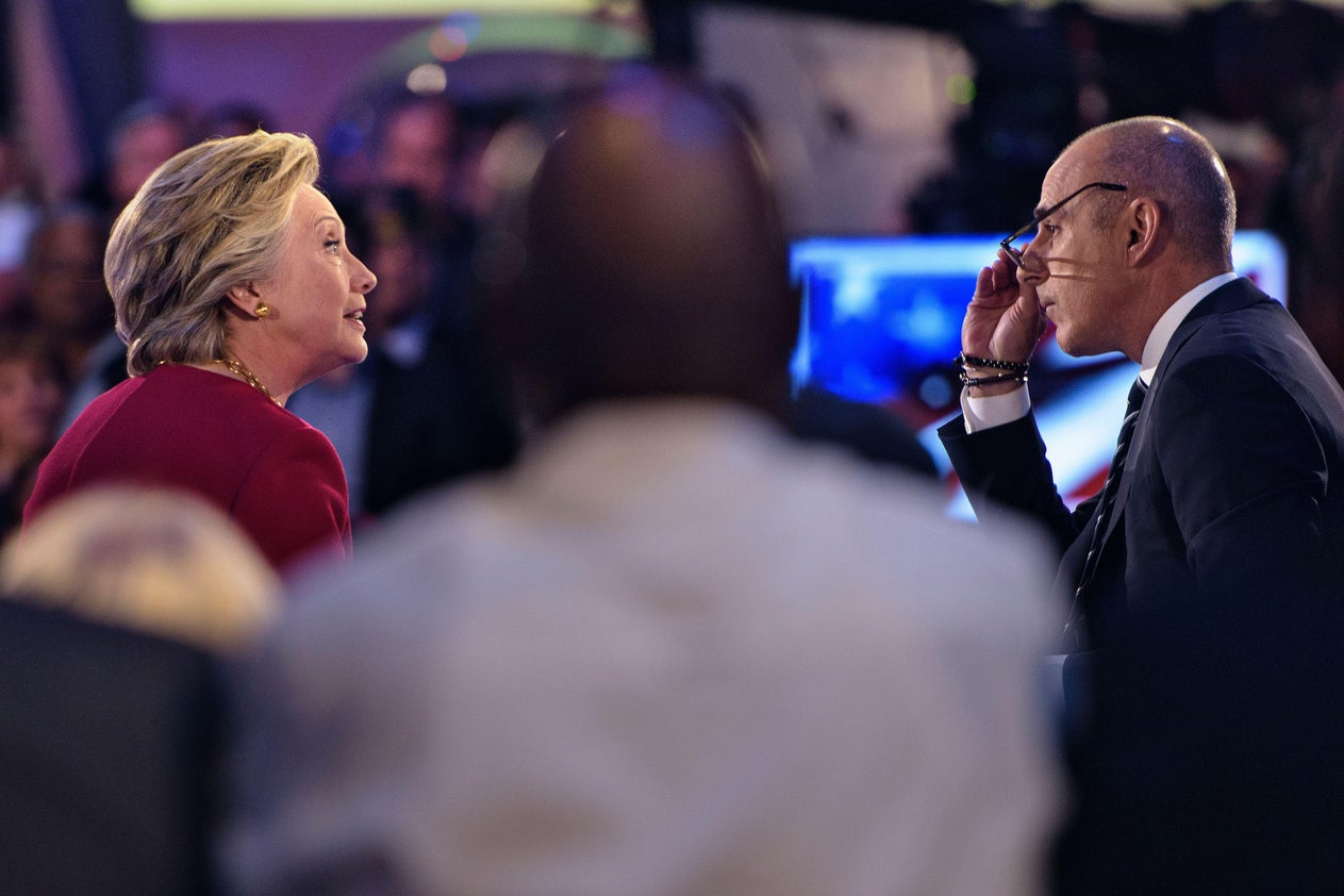 The subtle misogyny in Matt Lauer's interview with Hillary Clinton was appalling.