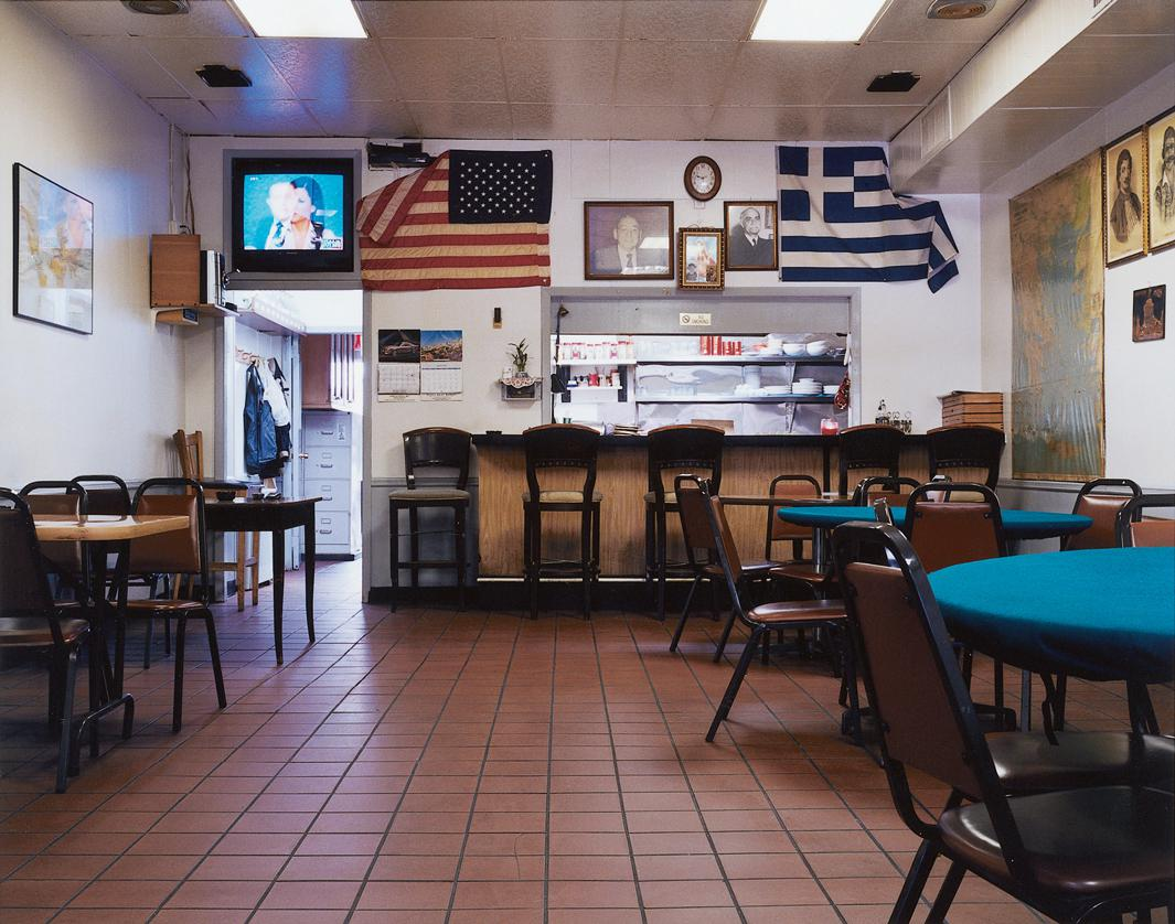 Greek American Retirement Club, Astoria, NY, 2009.