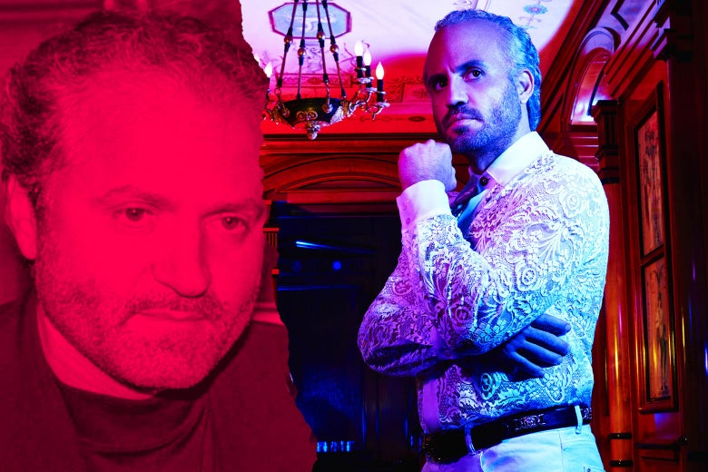 Gianni Versace and Edgar Ramirez in The Assassination of Gianni Versace.