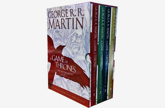 A Game of Thrones Graphic Novel 4 Books Collection Box Set.