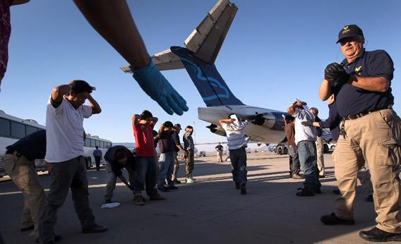 Undocumented Guatemalan immigrants.