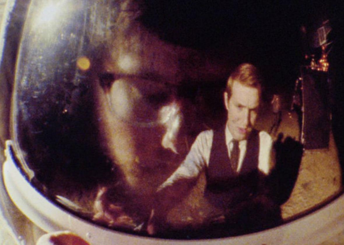 """A scene from """"Operation Avalanche."""""""