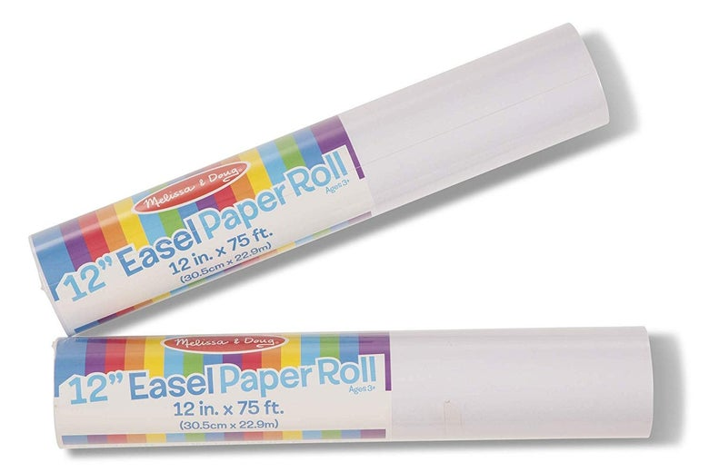 Rolls of easel paper