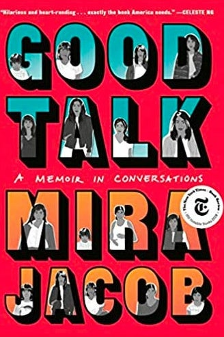 Cover of Mira Jacobs' book Good Talk.