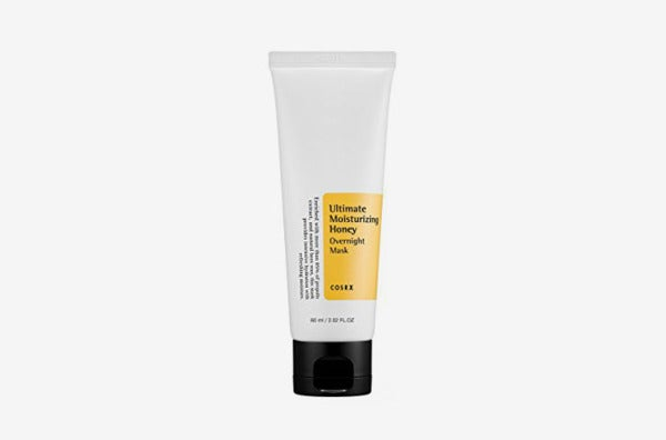 Cosrx Ultimate Moisturizing Honey Overnight Mask.