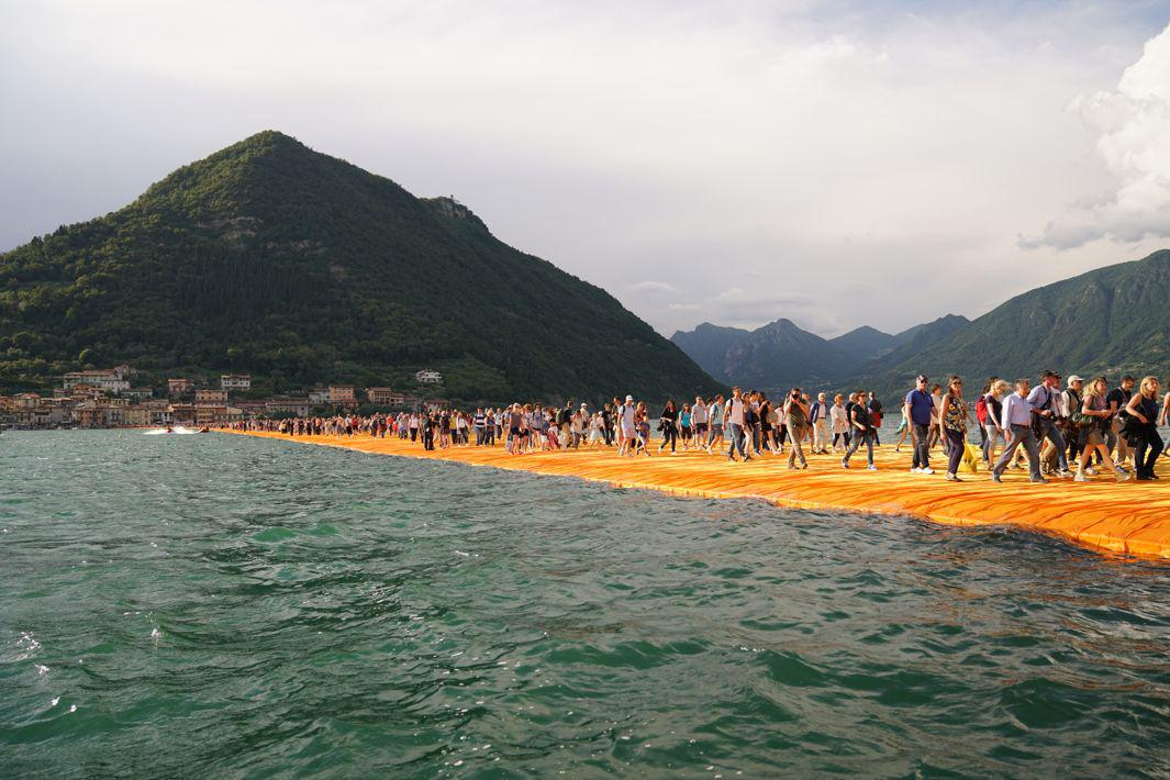The Floating Piers - The Floating Piers, Lake Iseo, Italy, 2014-16(1)