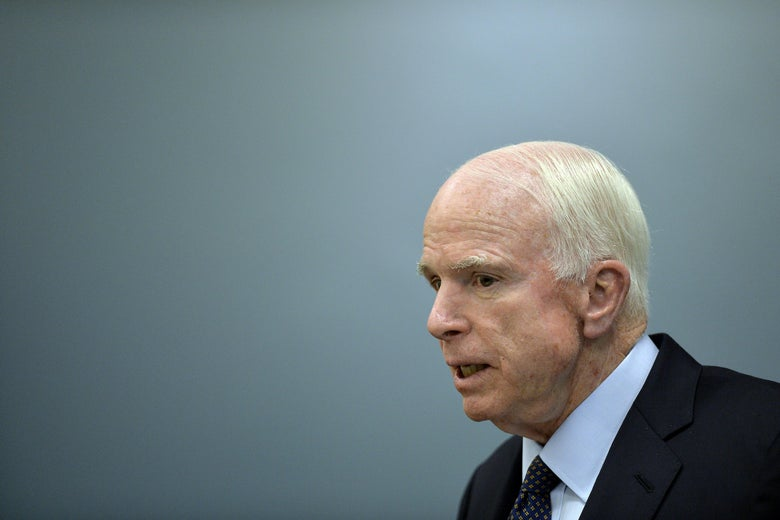 John McCain speaking.