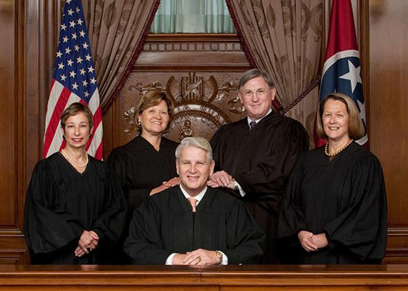 Tennessee Supreme Court Justices.
