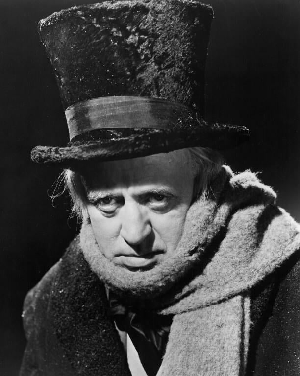 alistair sim in a christmas carol - Best Christmas Carol Movie