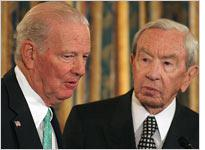 James Baker with Warren Christopher. Click image to expand