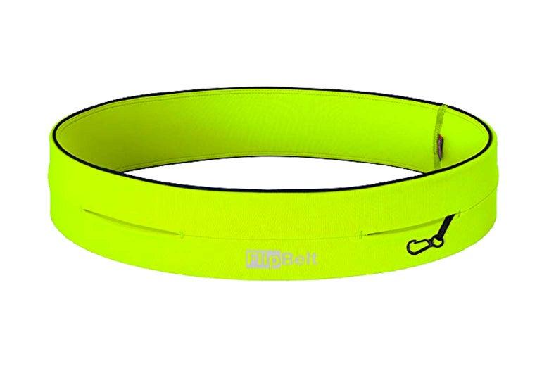FlipBelt, in neon green.